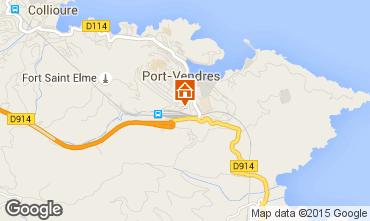 Mapa Port Vendres Apartamentos 76032