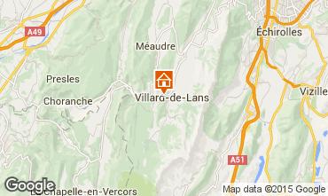 Mapa Villard de Lans - Corren�on en Vercors Chal� 38561
