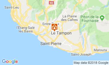 Mapa Saint Pierre (Réunion) Vivenda 117301