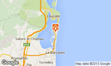 Mapa Port Leucate Casa 6325