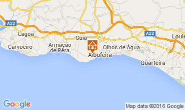 Mapa Albufeira Estúdio 102728