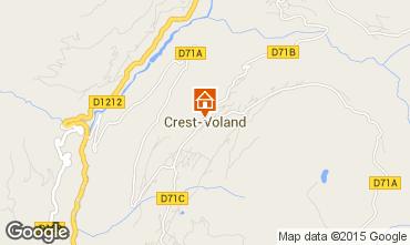 Mapa Crest Voland Cohennoz Apartamentos 61393