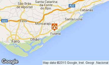 Mapa Olhão Apartamentos 74598