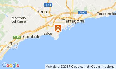 Mapa La Pineda Apartamentos 109516