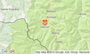 Mapa Le Somport Casa de turismo rural/Casa de campo 105705