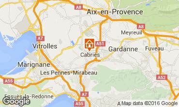 Mapa Aix en Provence Apartamentos 85504
