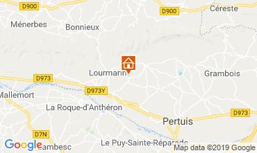 Mapa Lourmarin Casa 118893