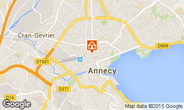 Mapa Annecy Est�dio 55703