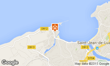 Mapa Saint Jean de Luz Apartamentos 9306