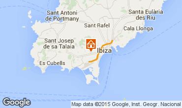 Mapa Ibiza Casa 95825