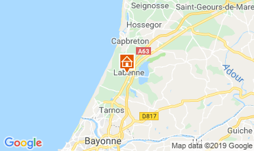 Mapa Labenne Océan Apartamentos 119486