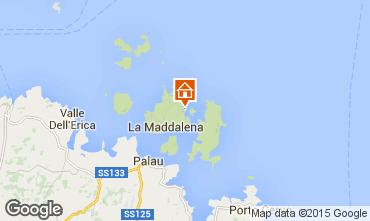 Mapa La Maddalena Apartamentos 52751
