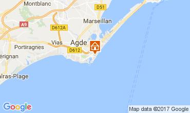 Mapa Cap d'Agde Estúdio 102337