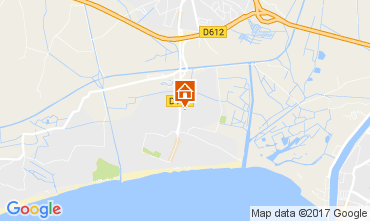 Mapa Vias Praia Mobil Home 29448