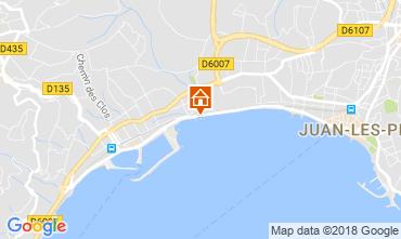 Mapa Juan les Pins Apartamentos 115401