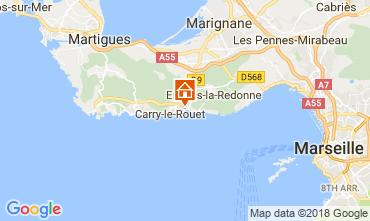 Mapa Carry le Rouet Vivenda 105398