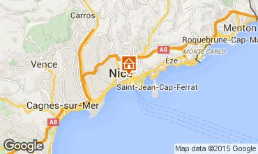 Mapa Nice Apartamentos 75359