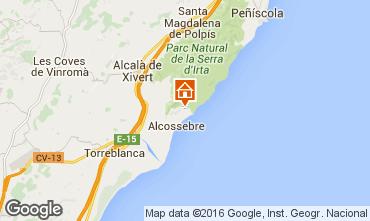 Mapa Alcoc�ber Apartamentos 102532
