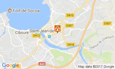 Mapa Saint Jean de Luz Apartamentos 112759