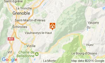 Mapa Chamrousse Apartamentos 107456