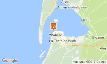 Mapa Arcachon Apartamentos 108450