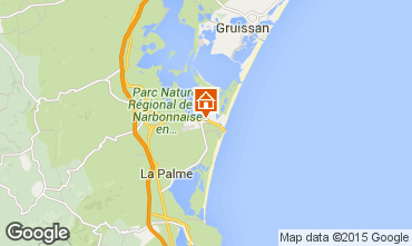 Mapa Port La Nouvelle Casa 54916