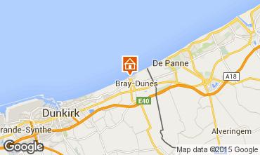 Mapa Bray-Dunes Estúdio 91783