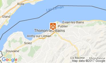 Mapa Thonon Les Bains Apartamentos 110536