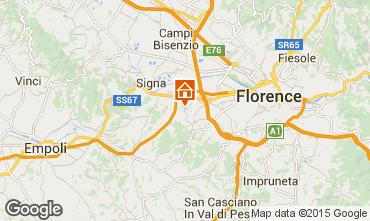 Mapa Floren�a Apartamentos 14820
