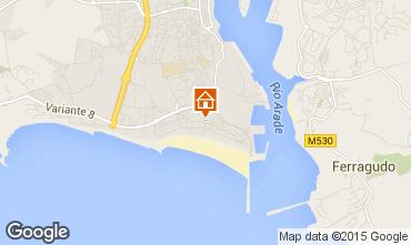 Mapa Praia da Rocha Apartamentos 57982
