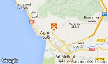 Mapa Agadir Apartamentos 56398