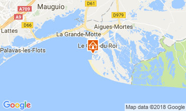Mapa Le Grau du Roi Apartamentos 113499
