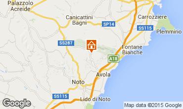 Mapa Avola Vivenda 64759