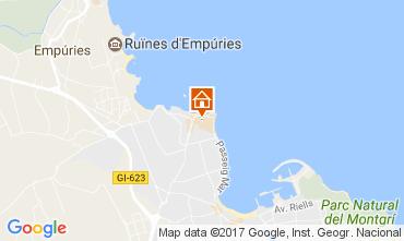 Mapa L'escala Apartamentos 93399