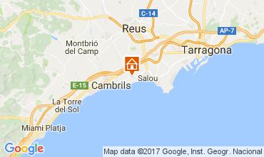 Mapa Cambrils Vivenda 112439