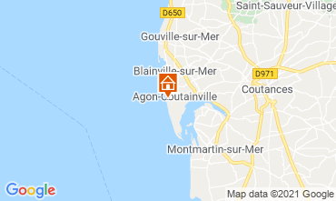 Mapa Agon-Coutainville Vivenda 15234