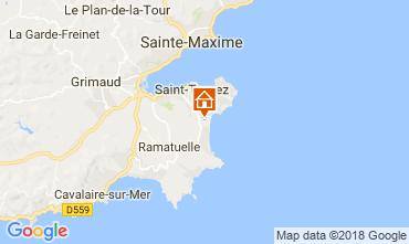 Mapa Saint Tropez Mobil Home 30322