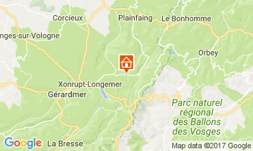 Mapa Gérardmer Chalé 111404
