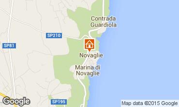 Mapa Marina di Novaglie Apartamentos 84450