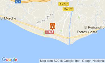 Mapa Torrox Apartamentos 115893