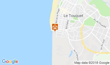Mapa Le Touquet Apartamentos 81592