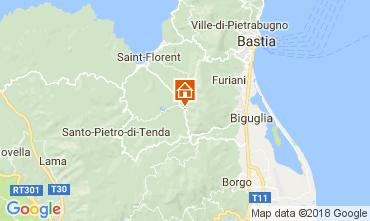 Mapa Saint Florent Casa de turismo rural/Casa de campo 112869
