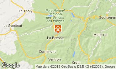 Mapa La Bresse Hohneck Casa de turismo rural/Casa de campo 4549