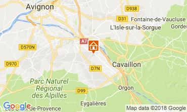 Mapa Saint Rémy de Provence Casa de turismo rural/Casa de campo 113890
