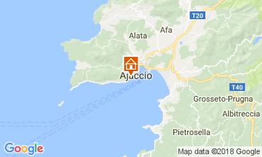 Mapa Ajaccio Apartamentos 113319