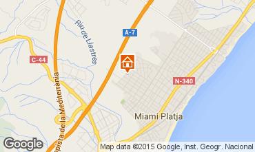 Mapa Miami Playa Casa 86078