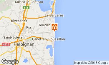 Mapa Sainte Marie la Mer Vivenda 78588