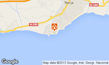 Mapa Nerja Apartamentos 11482