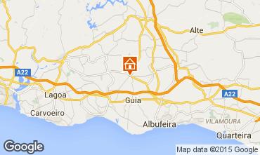 Mapa Albufeira Vivenda 60549