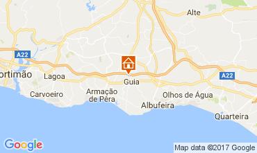 Mapa Albufeira Apartamentos 108782